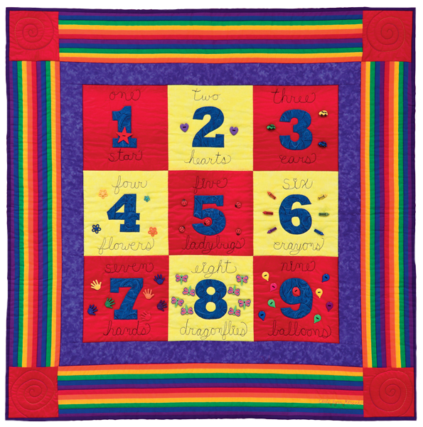 Counting on Buttons quilt