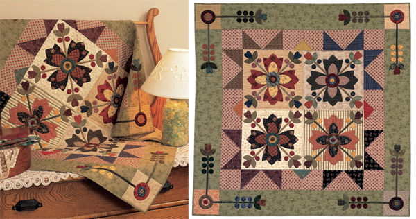 Country Whig Rose quilt