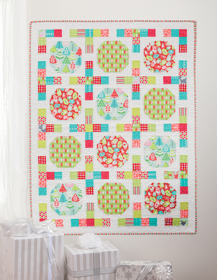 Snowball Games Christmas quilt