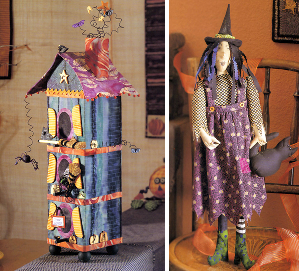 Projects from Creepy Crafty Halloween