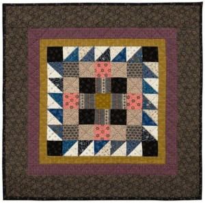 One-block quilt from The Civil War Sewing Circle