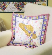 Pillow from The Quilter's Home Spring