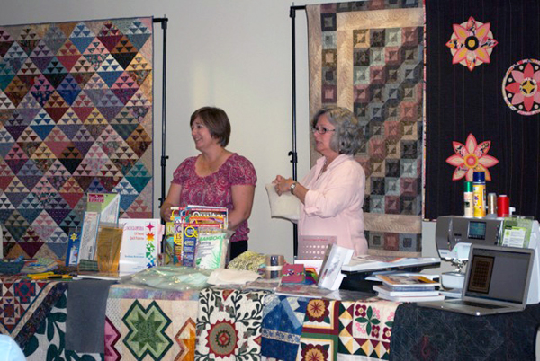 Quilting history show and tell