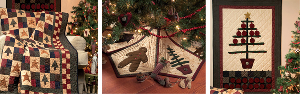 From Christmas Quilts from Hopscotch