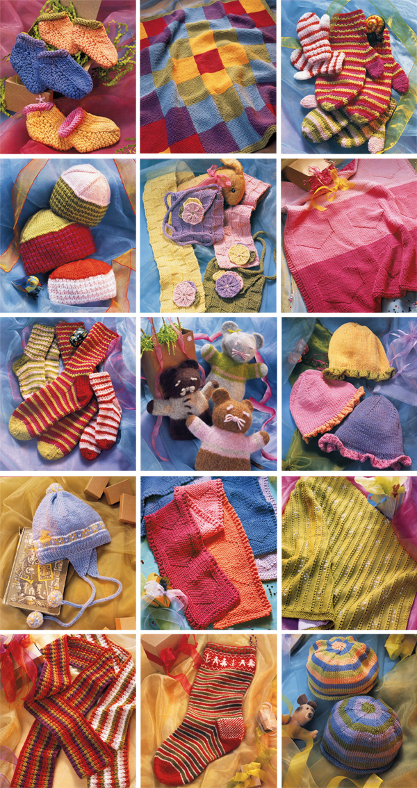 Projects from Knits from the Heart
