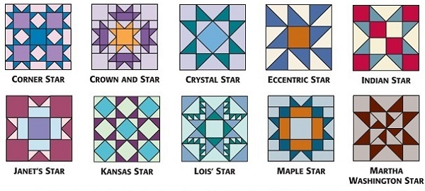 Star Quilt Block Patterns For An Astronomical Block
