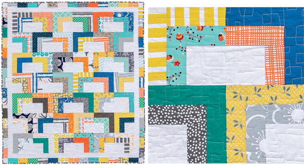 Open Sesame quilt from Strip Savvy