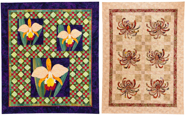 Quilts from Flower Show Quilts