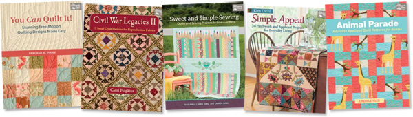 New quilt books coming soon!