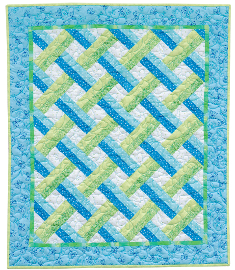 Petite Trellis quilt by Mary Hickey