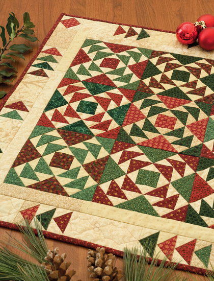 Christmas Goose quilt