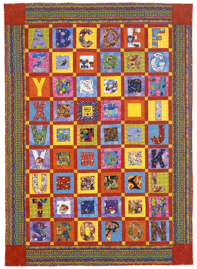 Now I Know My ABCs quilt