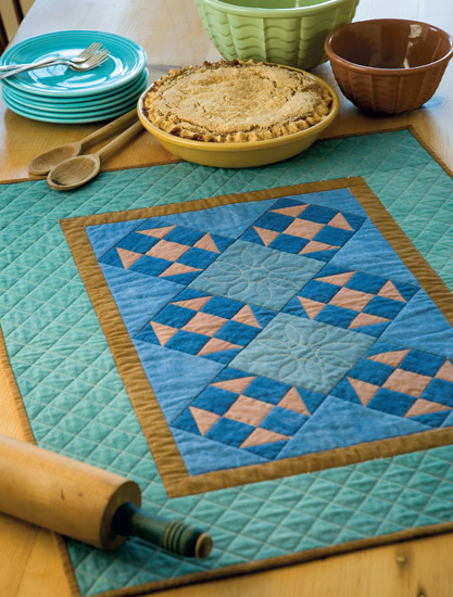 Amish-Inspired Shoofly quilt