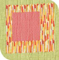 Block from Fabulously Fast Quilts