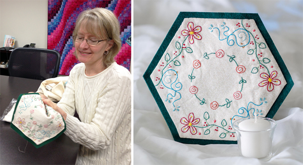 Durby's project from Patchwork Loves Embroidery
