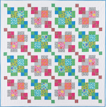 Puzzle Boxes quilt by Nancy Mahoney