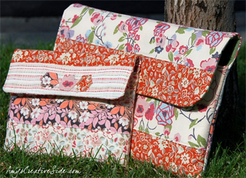 Free pattern--iPad Laptop Case by Amy Ellis