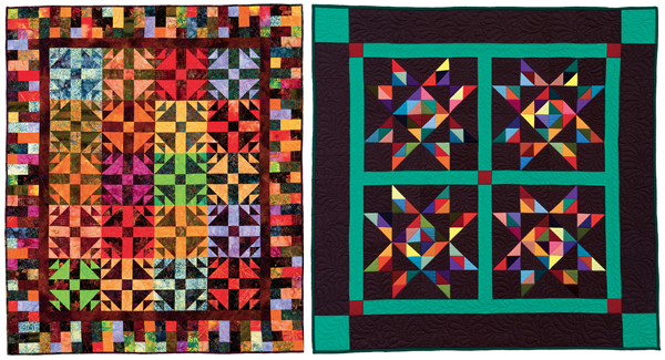 Quilts from Twosey-Foursey Quilts