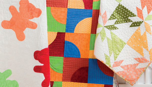 Baby quilts from Nap and Nod