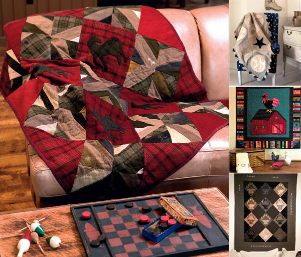Projects from Modern Primitive Quilts