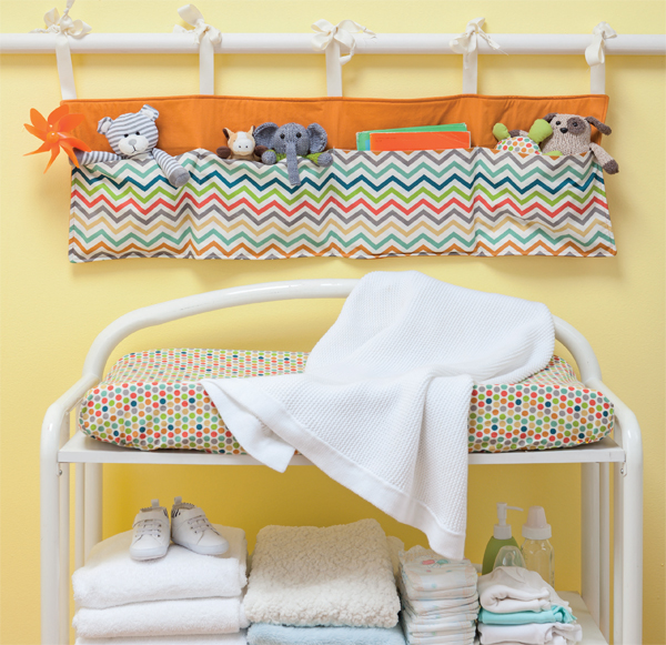 Sewing for baby--Changing Organizer