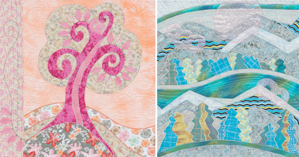 Quilts from Design Create and Quilt