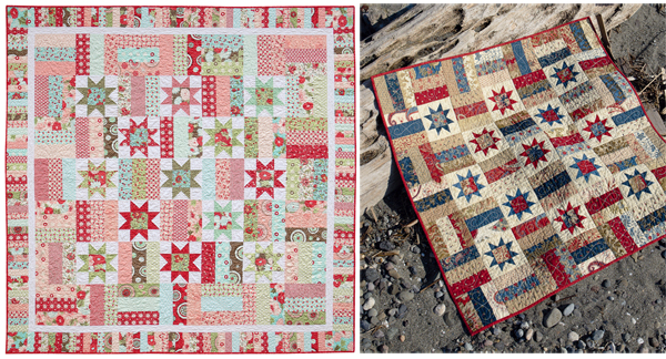 Lincoln large and small quilts