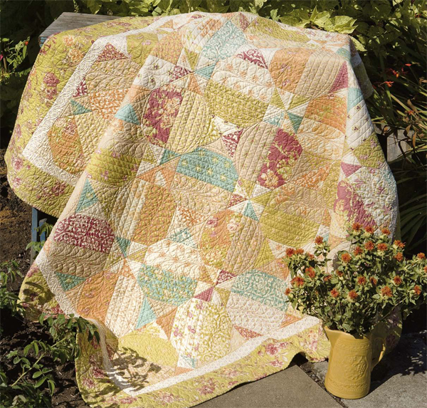 Little Red Layer Cake quilt