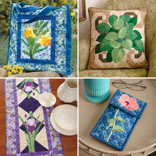Projects from Nature's Beauty in Applique
