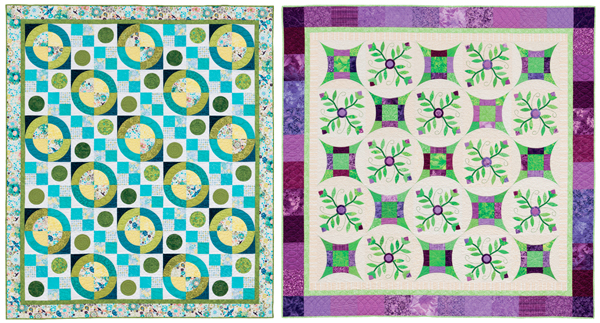 Quilts from Simple Circles and Quick Curves