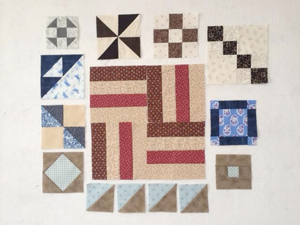 11 quilt blocks to make in 10 minutes