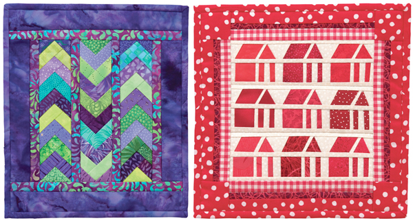 Projects from Paper-Pieced Mini Quilts