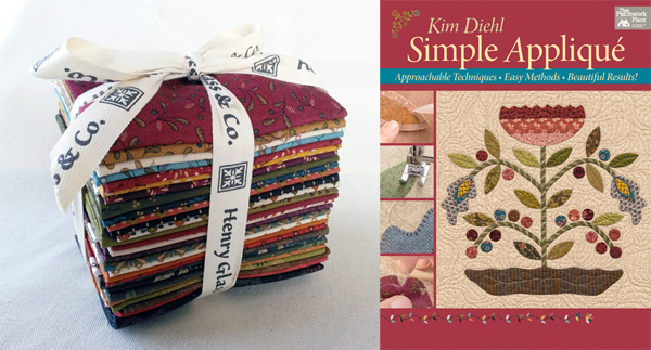 Simple Applique fabric giveaway