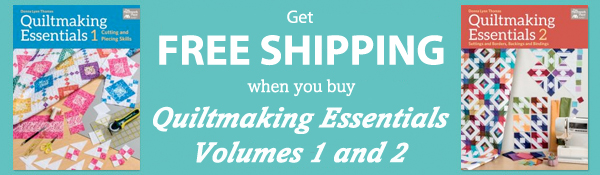 Free shipping on Quiltmaking Essentials books