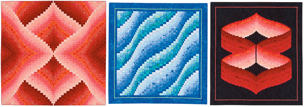 From Twist-and-Turn Bargello Quilts