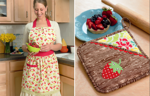 Kitchen sewing from Everyday Handmade
