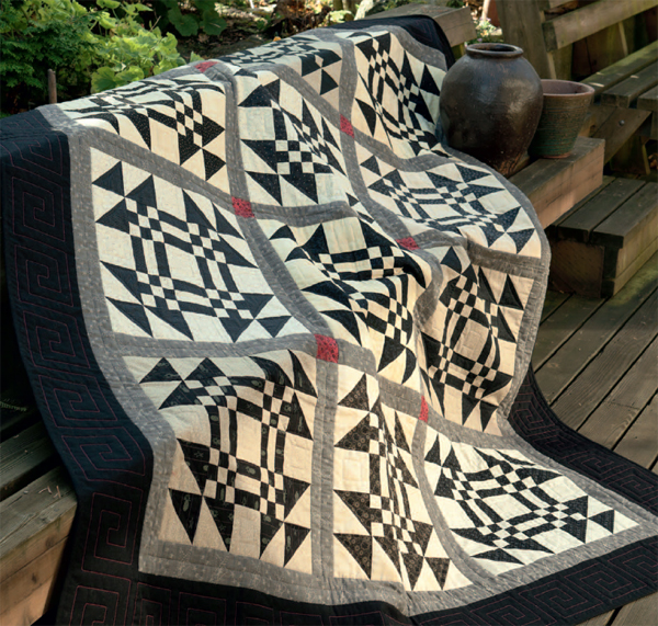 Snow on Furrowed Ground quilt