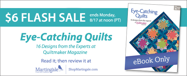 Eye-Catching Quilts flash-sale!
