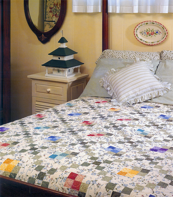 From Cottage-Style Quilts