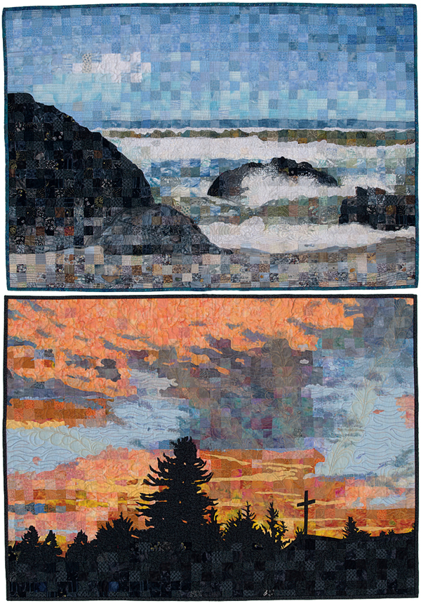 From Mosaic Picture Quilts