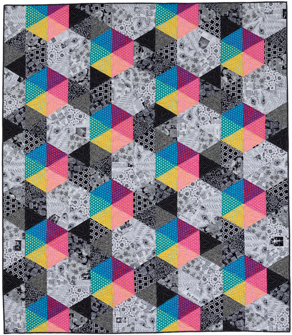 Jackie's Seeing Spots quilt