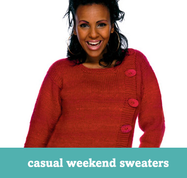 Casual weekend sweaters
