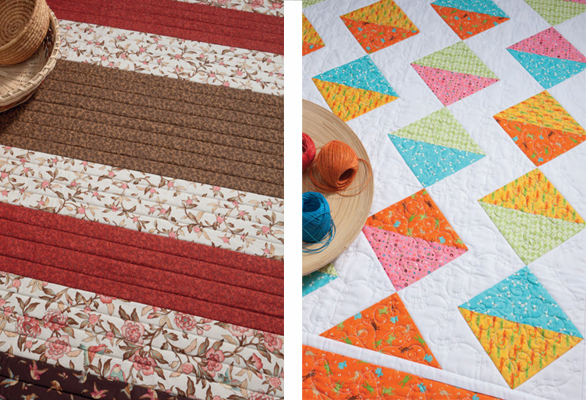 prints from More Take 5 Quilts