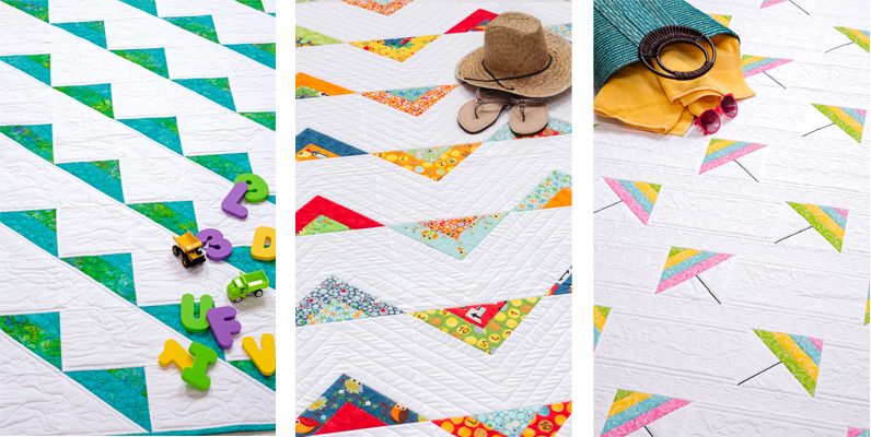 triangles from Strip-Smart Quilts II