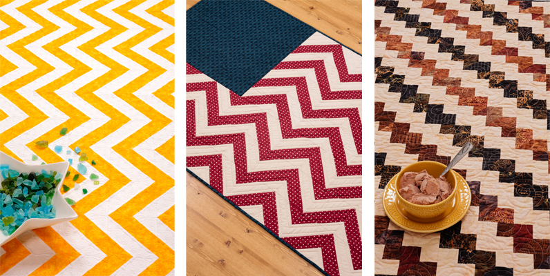Zigzags from Strip-Smart Quilts II