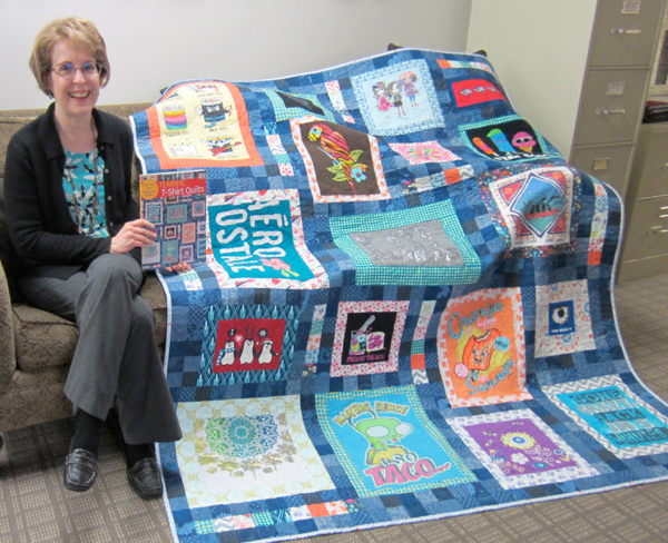 Sheila-with-her-terrific-t-shirt-quilt