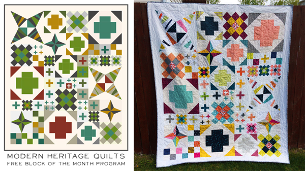 Modern-Heritage-Quilts-Block-of-the-Month