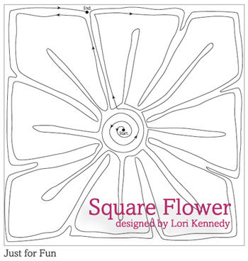 Square-Flower-doodle-pattern