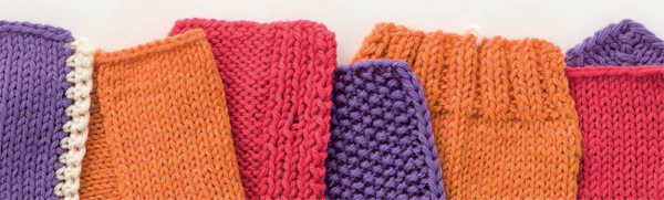 Knitted-edgings
