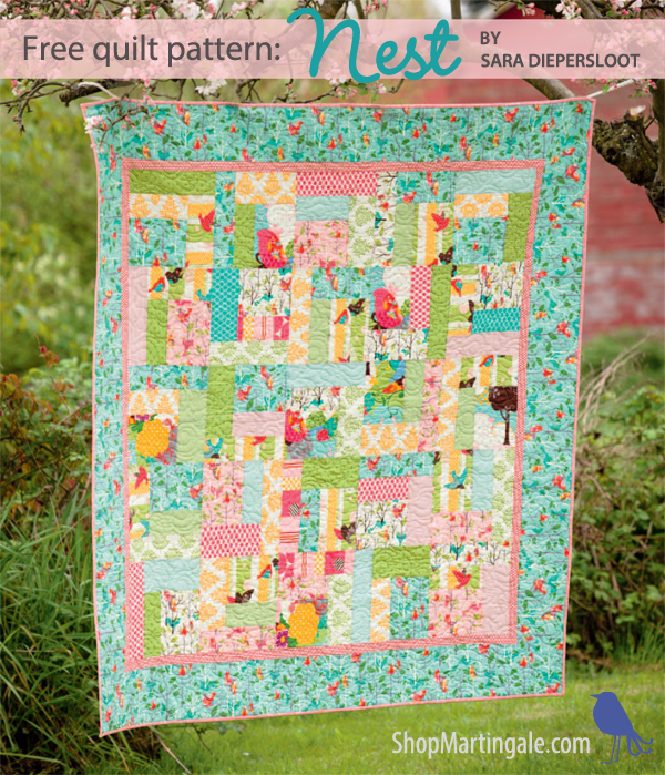 Free quilt pattern: a quick beauty for beginners (and for THAT